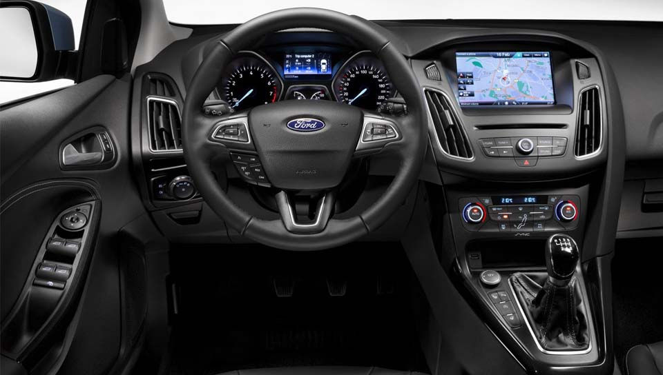 Ford Focus 2015 Ford Focus'a Yeni Kasa ford focus 2015 1