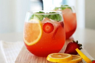 Strawberry Lemonade strawberry basil lemonade Strawberry BASIL Lemonade strawberry lemonode 1 330x220
